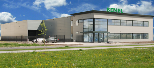 New Benl Office and Warehouse